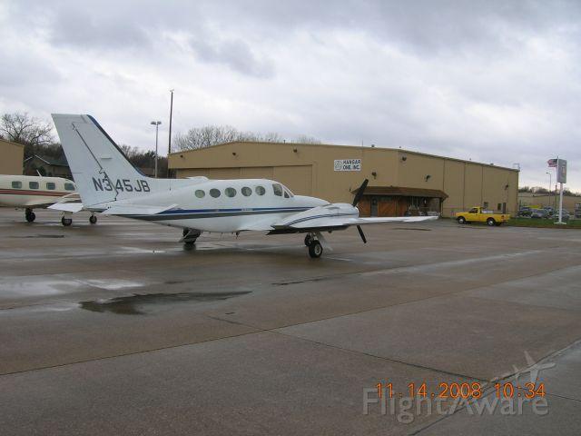 Cessna 421 (N345JB) - 1978 C421C at MLE  11/14/2008 @ 415pm