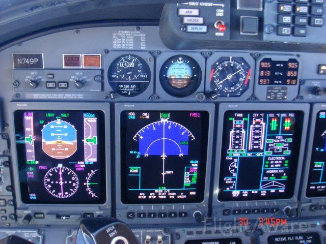 Cessna Citation X (N749P)