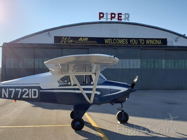 Piper PA-22 Tri-Pacer (N7721D)