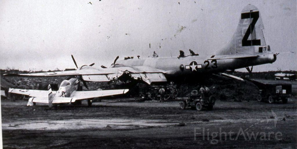 Boeing B-29 Superfortress — - Hard to see but this is mone big wreck. Several men died. Ground crew and Aircraft crew.