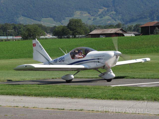HB-SRD — - Aero AT-3 R100 at the run up spot.