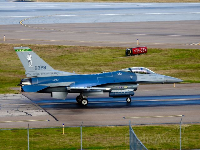 Lockheed F-16 Fighting Falcon (86-0328) - 158th Fighter Wing