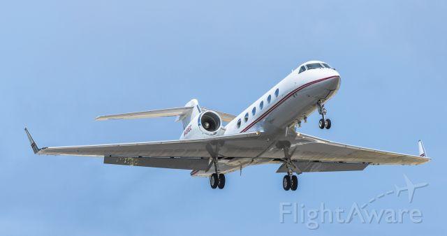 Gulfstream Aerospace Gulfstream IV (EDG49) - Jet Edge 49 departing St Maarten.