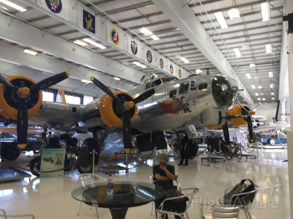 Boeing B-17 Flying Fortress (N9563Z) - B-17 FUDDY DUDDY ON DISPLAY AT LYON AIR MUSEUM