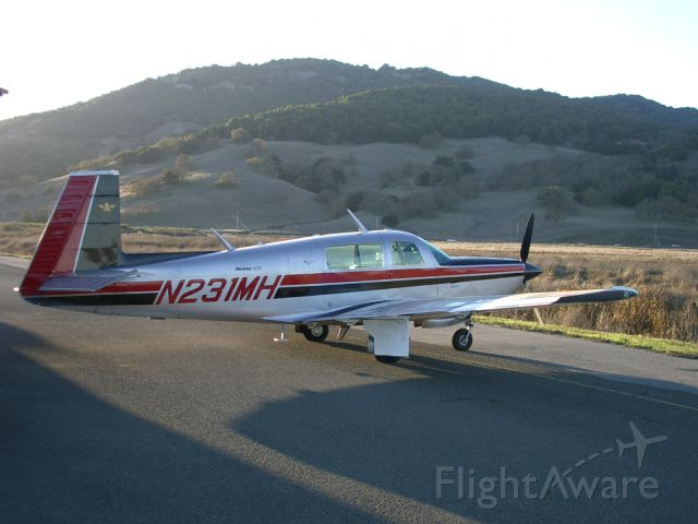N231MH — - In front of my hanger in Northern Marin County, California