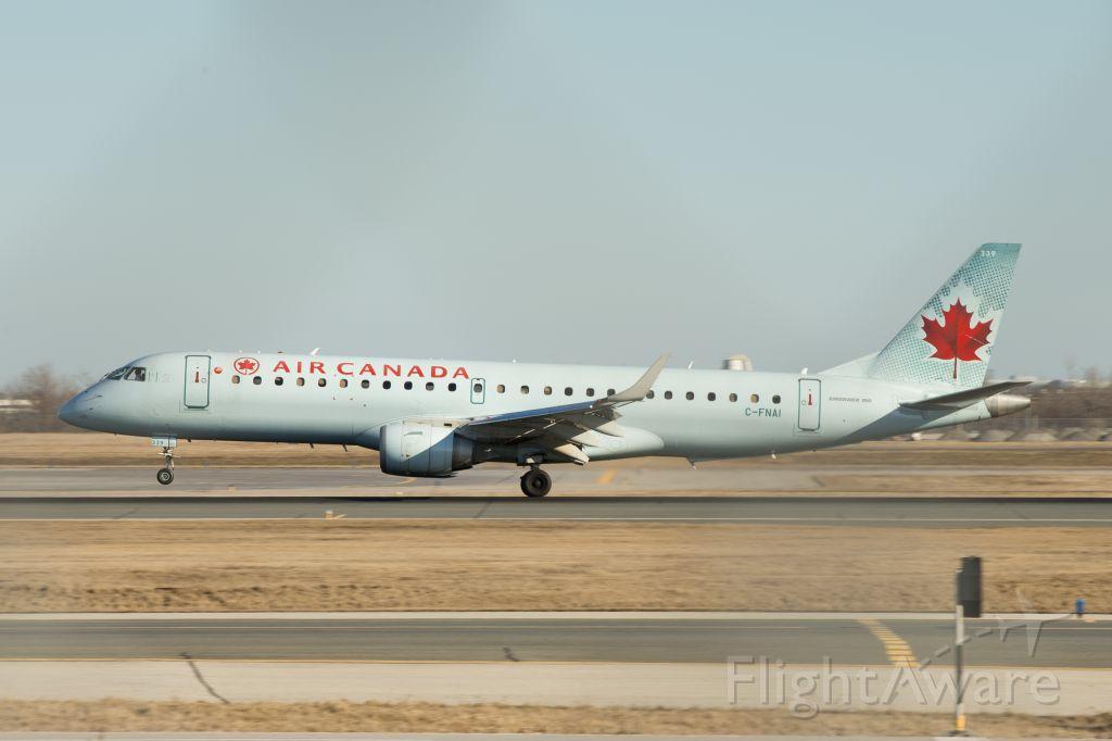 Embraer ERJ-190 (C-FNAI) - C-FNAI Air Canada Embraer ERJ-190AR landing at Pearson runway 05L