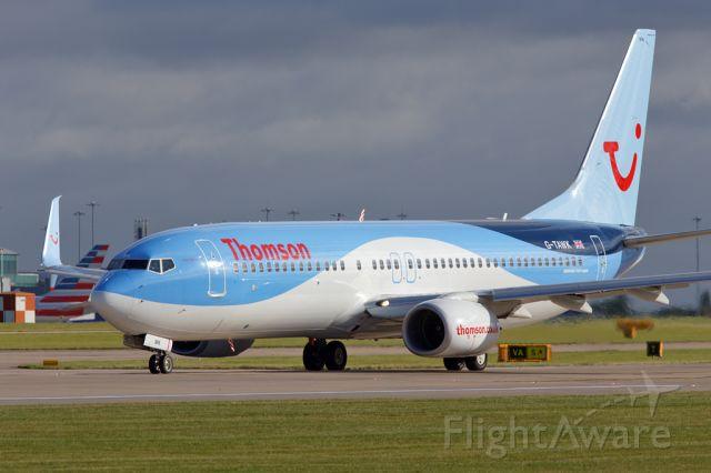 Boeing 737-800 (G-TAWK) - TOM2686 to Pula