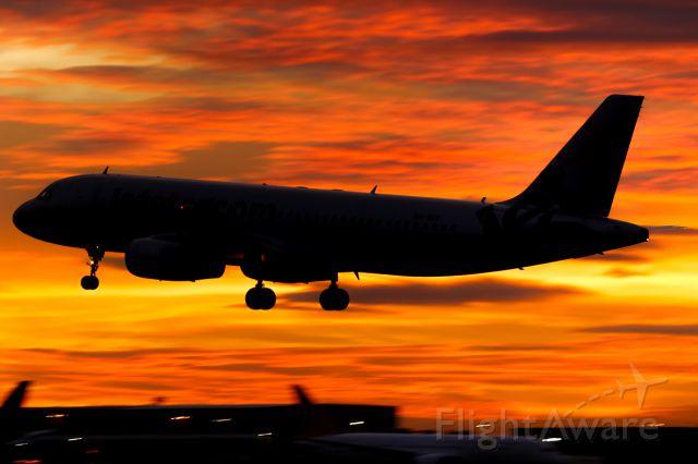 Airbus A320 (VH-VGT)