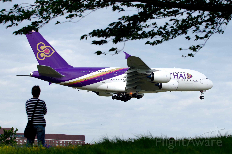 Airbus A380-800 (HS-TUD) - Rwy16R,NRT