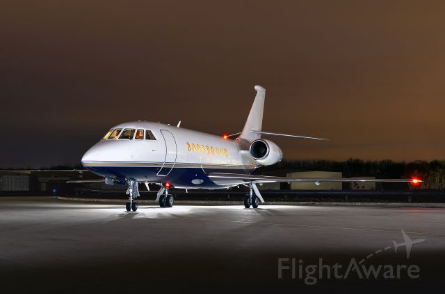 Diamond DA-20 (N18MV) - One of three identical Falcon 2000's for charter at Short Hills Aviation
