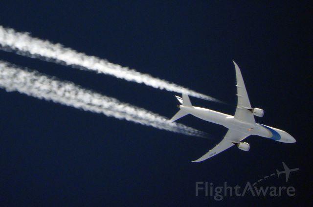Boeing 787-9 Dreamliner (4X-EDD) - El Al Israel Airlines LY28<br />EWR-TLV<br />Boeing 787-9<br />ALT: 35,000ft<br />GSPD: 480kts
