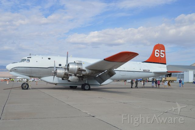 Douglas C-54 Skymaster (N8502R) - On display at the 2017 Historic Wendover Air Show.