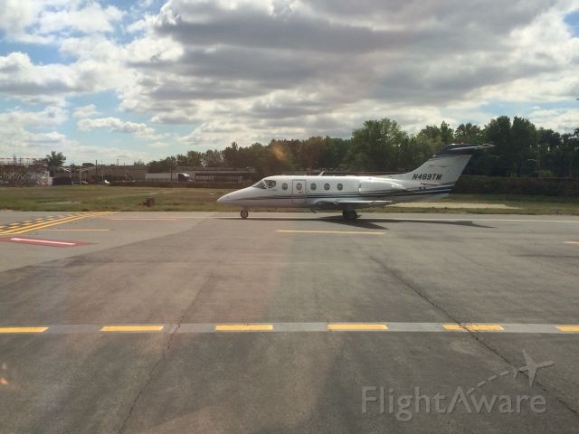 Beechcraft Beechjet (N489TM) - Photo taken by Steven Nice, unknown airport,9-10-15.