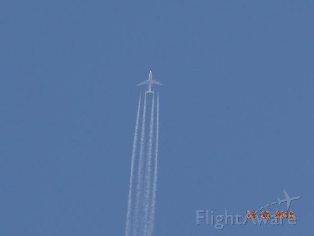 Airbus A340-300 (D-AIGM) - overflight: TXL/EDDT , LH 781 , 854 km/h , 11.500 m