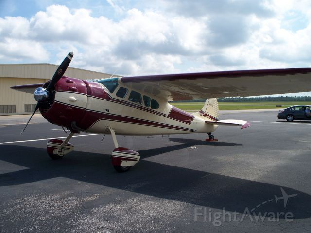 Cessna LC-126 (N2151C) - Parked at Lone Star. Beautiful aircraft!