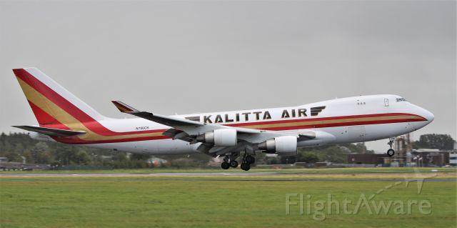 Boeing 747-400 (N706CK) - kalitta air b747-4b5f n706ck landing at shannon 18/8/19.