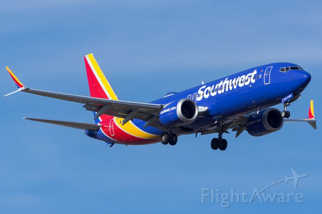Boeing 737 MAX 8 (N8713M) - Full Quality Photo --> a rel=nofollow href=http://www.airliners.net/photo/Southwest-Airlines/Boeing-737-8-Max/4795267http://www.airliners.net/photo/Southwest-Airlines/Boeing-737-8-Max/4795267/a