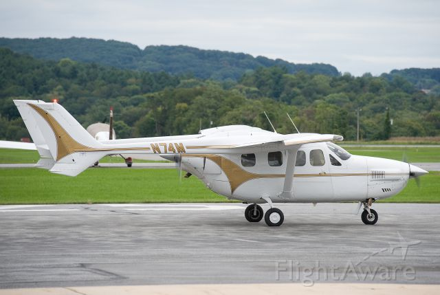 Cessna Super Skymaster (N74M) - N74M  Cessna P337 Skymaster  KFDK  20110918