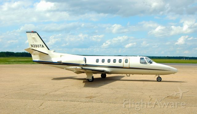 Cessna Citation II (N280TA) - Citation Bravo at Poplar Bluff