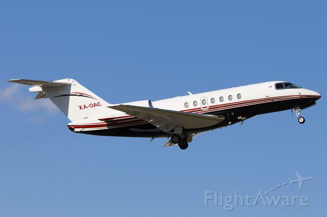 Hawker Beechcraft 4000 (XA-OAC) - XA-OAC