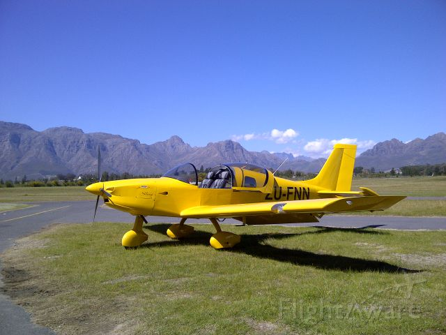 ZU-FNN — - With the Cape of Good Hope mountain range in the background