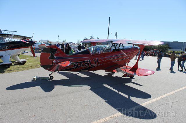 PITTS Special (S-2) (N49LH) - Bonham, Texas Air Show 11/2/13