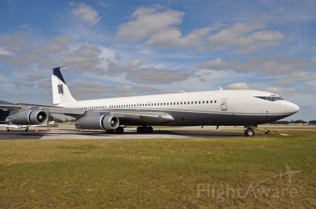 Boeing 707-100 (N88ZL) - Built in 1965 and resting at the Opa-Locka airport in S. Floridabr /Equipped with JT3D-3&3B engines. License has expired.