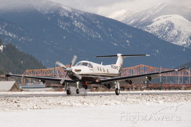 Pilatus PC-12 (N535PC)