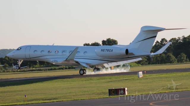 Gulfstream Aerospace Gulfstream G650 (N678GA)