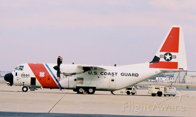 Lockheed C-130 Hercules — - Coast Guard C-130 undergoes maintenance at Lockheed-Martin facility at KGYH