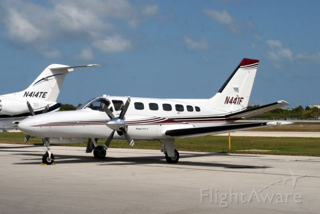 Cessna Conquest 2 (N441F) - Visiting from KSFB on 09-Apr-11.