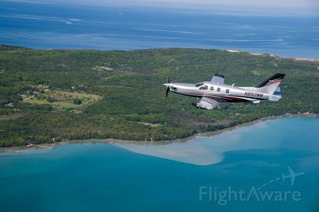 Socata TBM-850 (N850WM) - Air to Air
