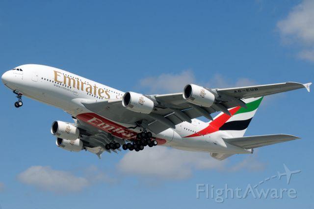 Airbus A380-800 (F-WWSZ) - F-WWSZ > A6-EUB