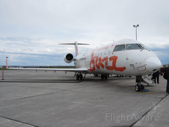 Canadair Regional Jet CRJ-200 (C-GZJA) - Terminating a flight from Ottawa Ont to Charlottetown PEI