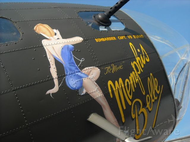 Boeing B-17 Flying Fortress (N3703G) - A classic on display at the Cleveland International Air Show.