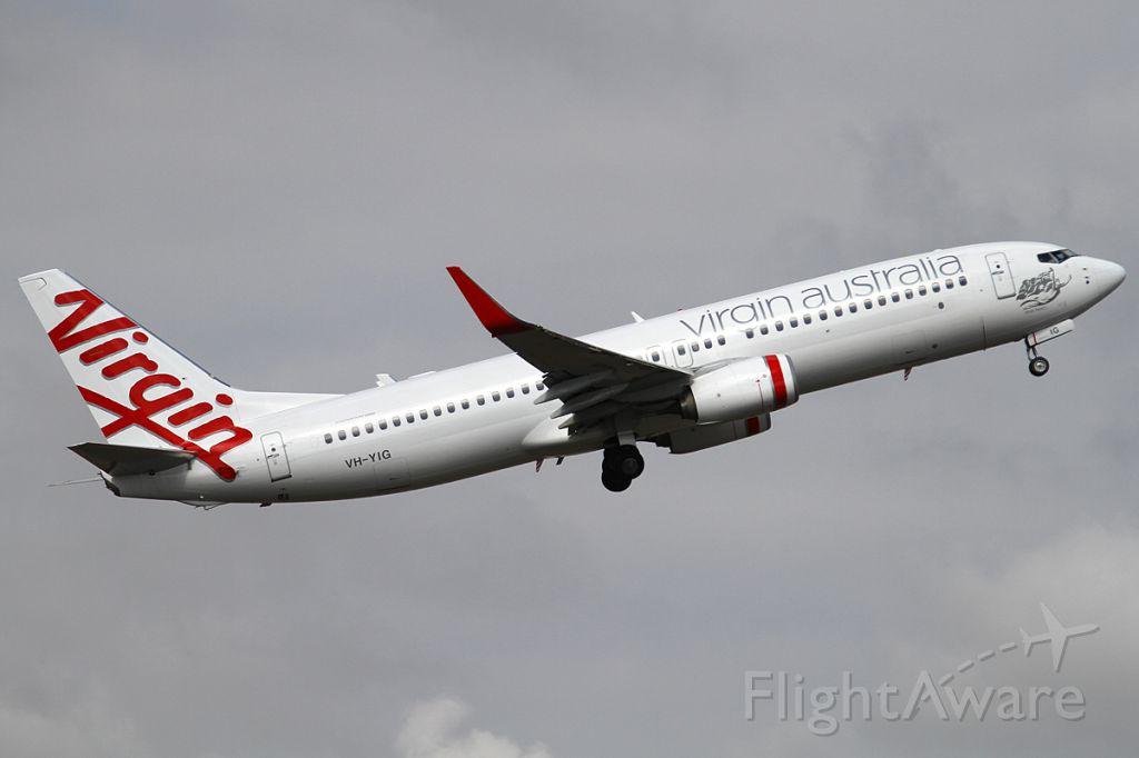 Boeing 737-800 (VH-YIG) - on 24 November 2012