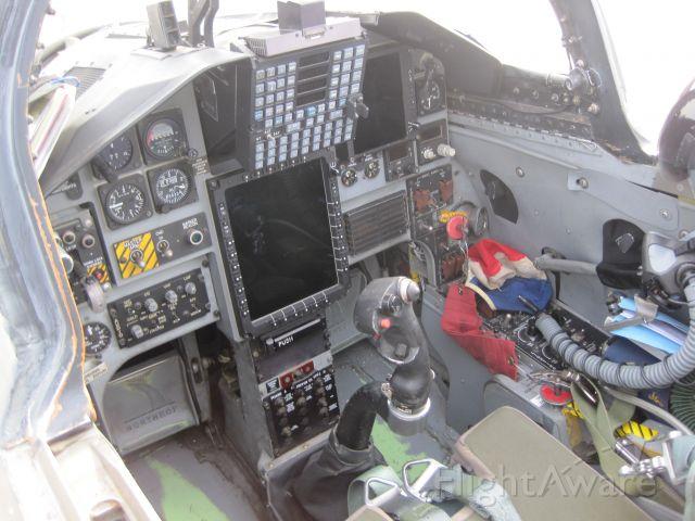 T38C — - Cockpit of a T38-C