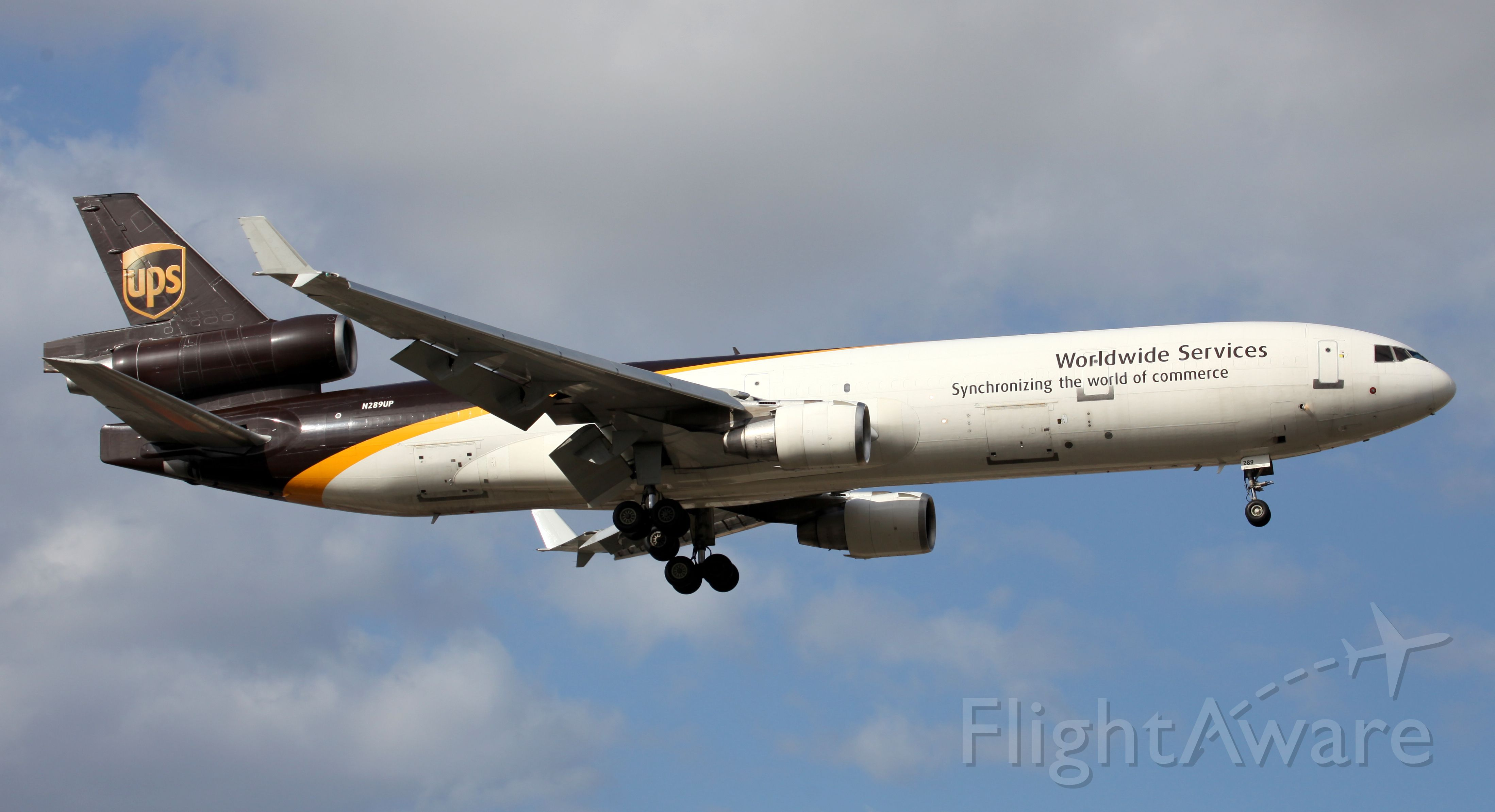 Boeing MD-11 (N289UP) - On Final To Rwy 16R
