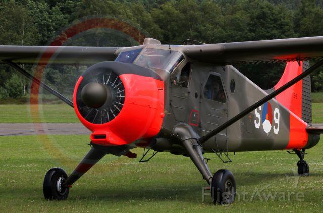 De Havilland Canada DHC-2 Mk1 Beaver (PH-DHC) - FLY IN ZWARTBERG 2016