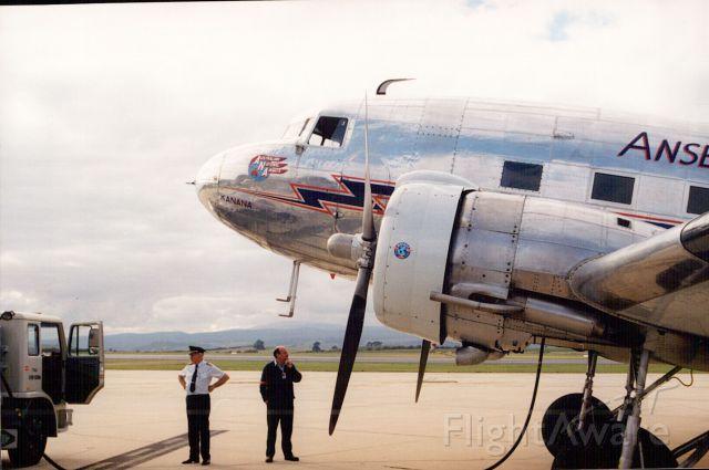 Douglas DC-3 (VH-ABR)