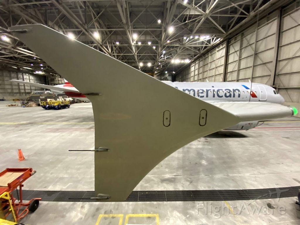 Airbus A319 (N818AW)
