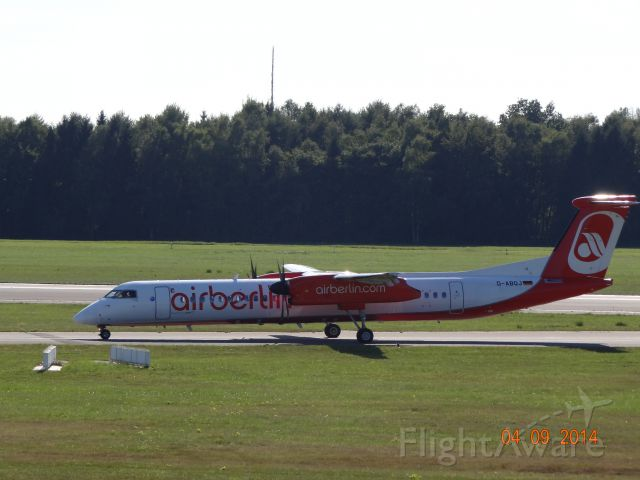 de Havilland Dash 8-400 (D-ABQJ) - D-ABQJ _ AB _ DSC03561