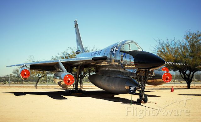 61-2080 — - B-58 at the Pima Air and Space Museum, next to Davis-Monthan AFB.