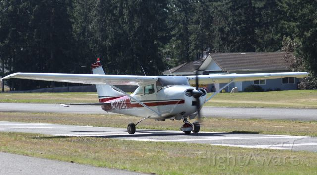 N2070X — - Taxi after landing at Crest
