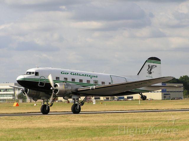 Douglas DC-3 (G-AMRA) - Douglas DC-3C, Air Atlantique, G-AMRA, EFLF, Farnborough Air Show 2006