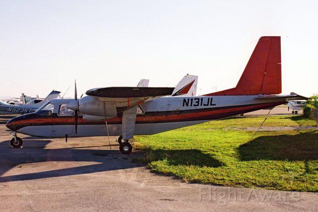 ROMAERO Islander (N131JL) - Seen here in Oct-02.