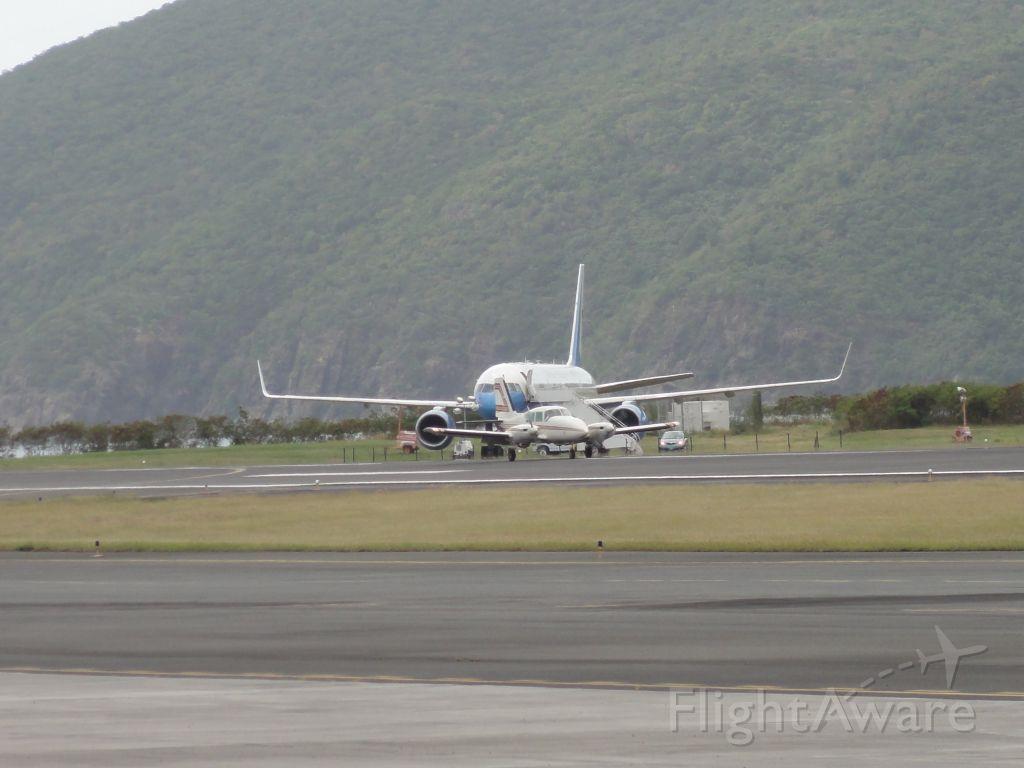 Boeing 757-200 — - VP Joe Biden on Holiday in St. Thomas