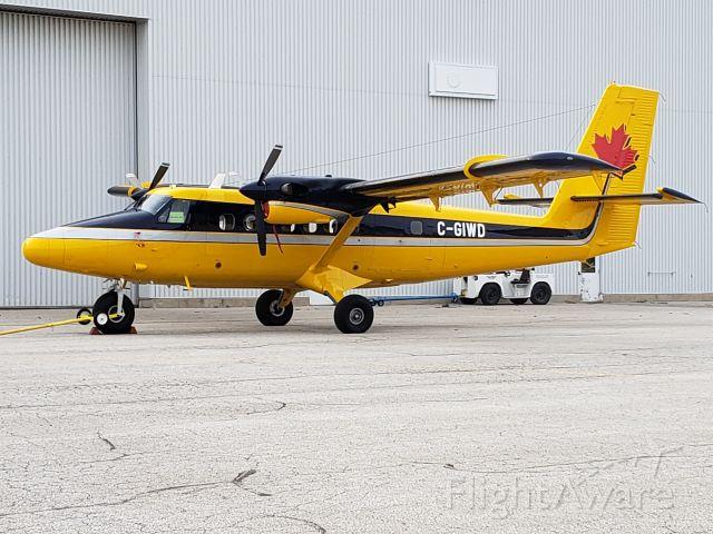 De Havilland Canada Twin Otter (C-GIWD) - A nice Yellow DHC-6, 300 series MSN 721