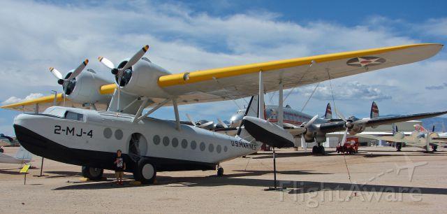 2MJ4 — - Sikorsky JRS-1 (S-43) at Pima Air Museum 7-18-13