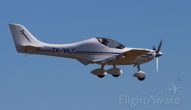 ZK-MLC — - On finals at Bridge Pa, Hastings NZ, During Air Safari, 27th March 2013